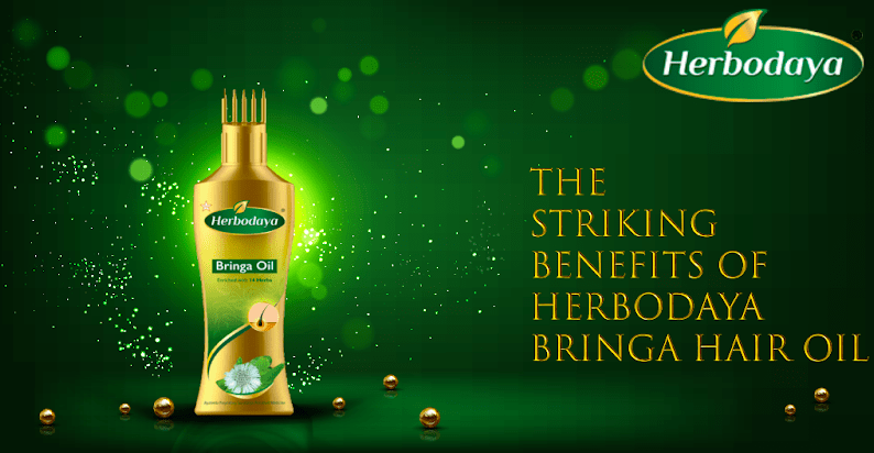 Striking Benefits of Herbodaya Bringa Hair oil
