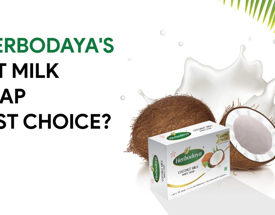 Why is Herbodaya's coconut milk white soap the safest choice?