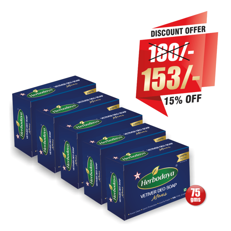 vetiver deo soap - 75gm DISCOUNT OFFER post-min