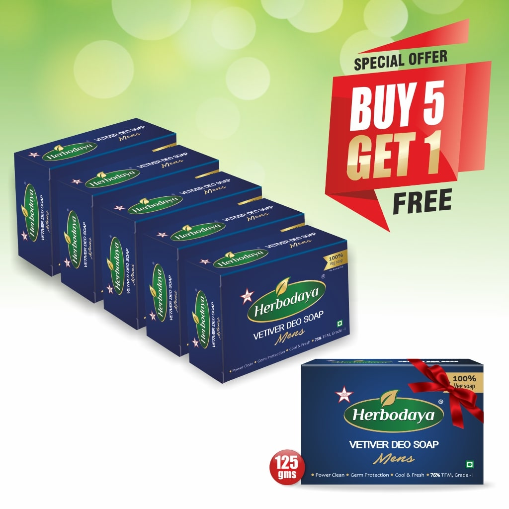 5+1 offer - DEO SOAP-min