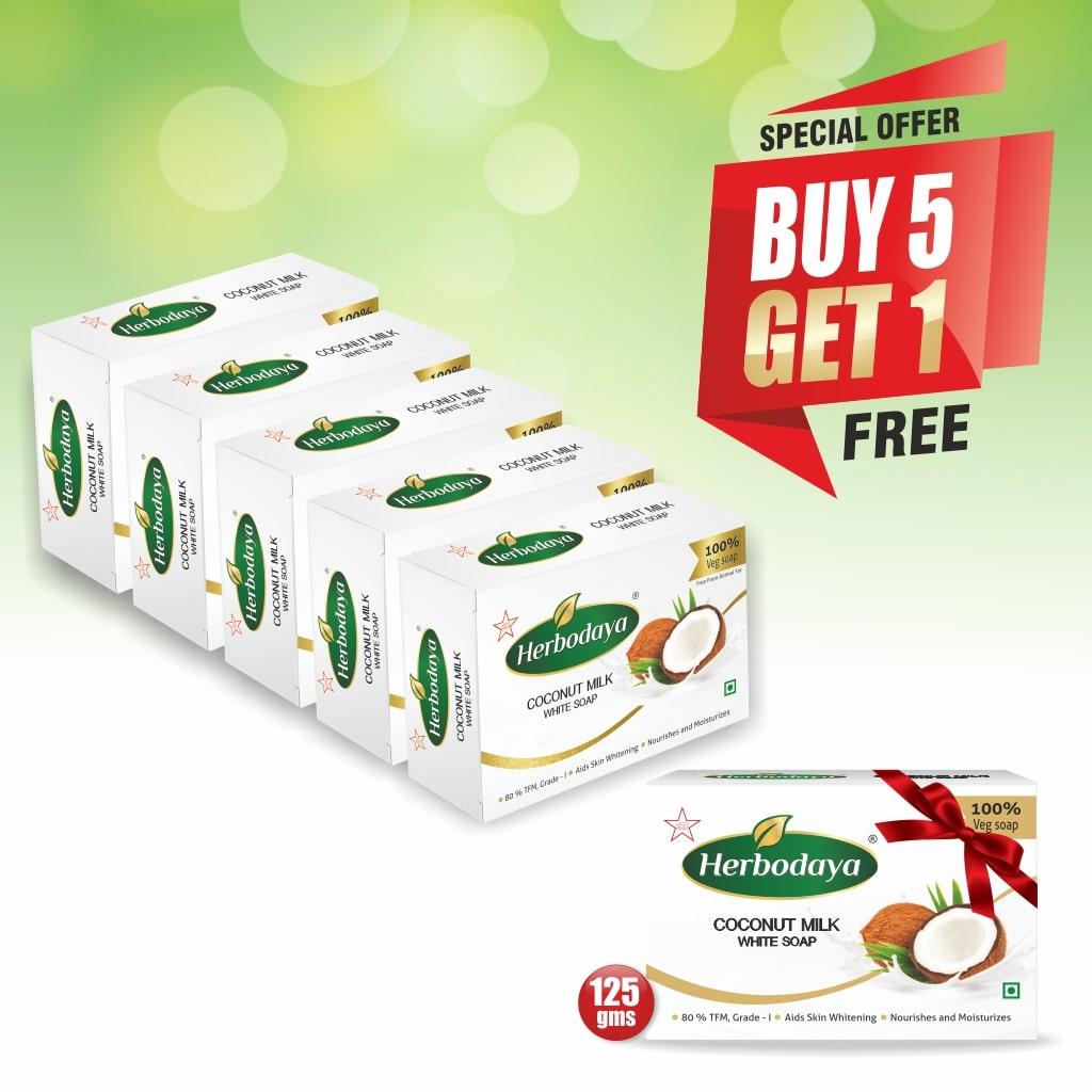5+1 offer - MILK SOAP-min