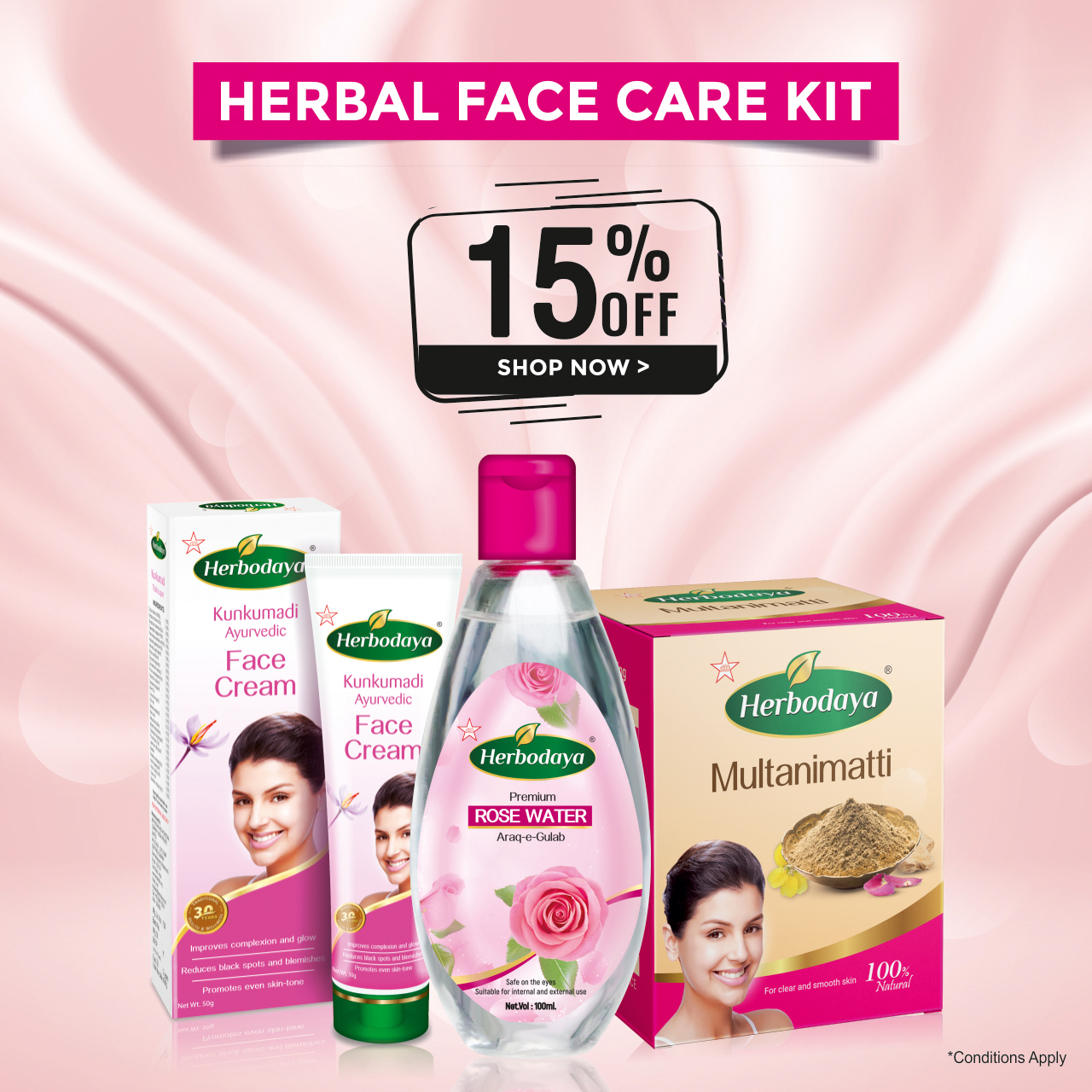 FACE CARE KIT - COMBO - ad